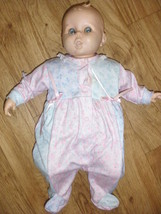 Vintage Gerber baby doll blue eyes collectible vinyl - $15.00
