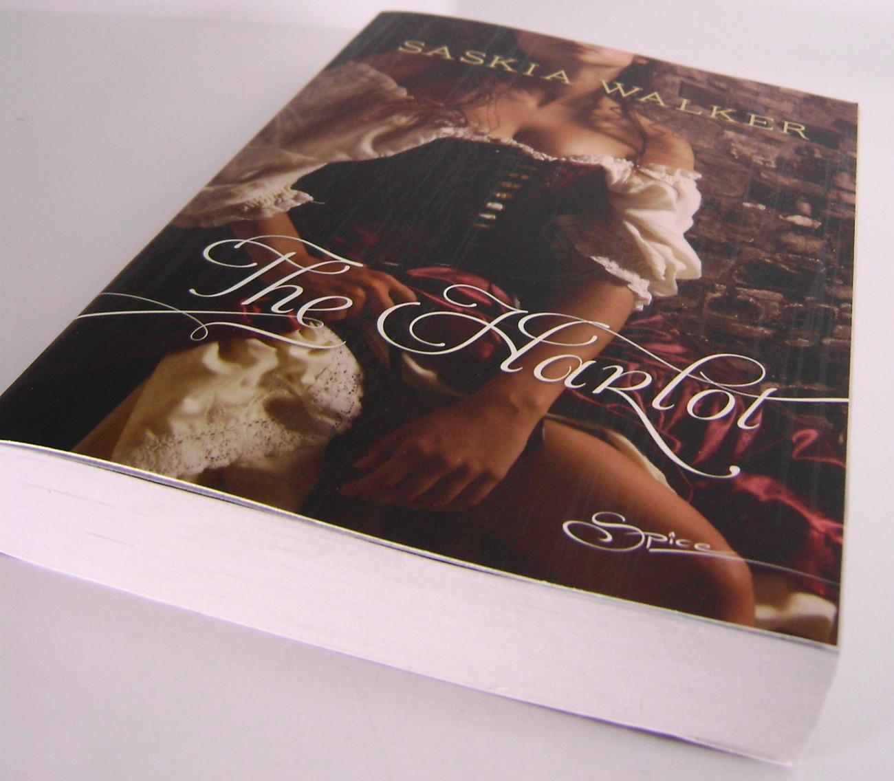 The Harlot By Saskia Walker HQ Spice Book PB