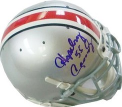 Hopalong Cassady signed Ohio State Buckeyes Authentic Mini Helmet 55 - $109.95