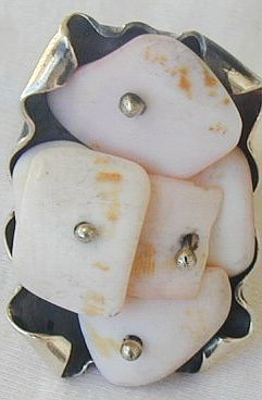 Sea stone ring sr35