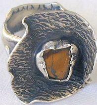 Brown flower ring-SR21 - $26.00