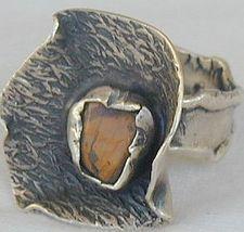 Brown flower ring sr21 2 thumb200