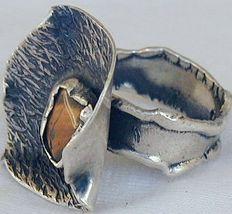 Brown flower ring sr21 3 thumb200
