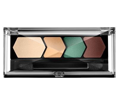 MAYBELLINE EyeStudio Eyeshadow Color Plush Quad, Irresistibly Ivy 90 N&S