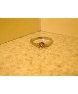 RING WOMEN GEMSTONE PINK SAPPHIRE SOLITAIRE SZ ... - $9.99