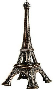 TOUR EIFFEL TOWER REPRODUCTION PARIS 13,5 cm SOUVENIR NEW