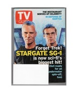 TV Guide Stargate SG-1 2003 Cover - $2.50