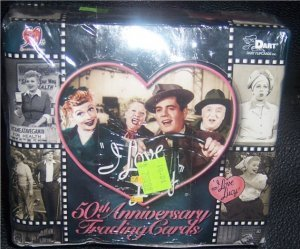 I Love Lucy 50th Anniversary Trading Cards New 72 Different Cards