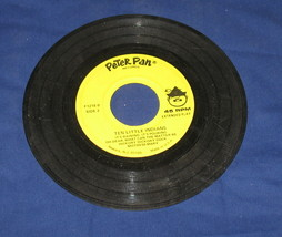 Peter Pan Records Ten Little Indians - $8.99