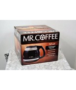Mr. Coffee PLD12-1 Replacement Glass Carafe/Decanter Black 12-Cup New in... - $11.69