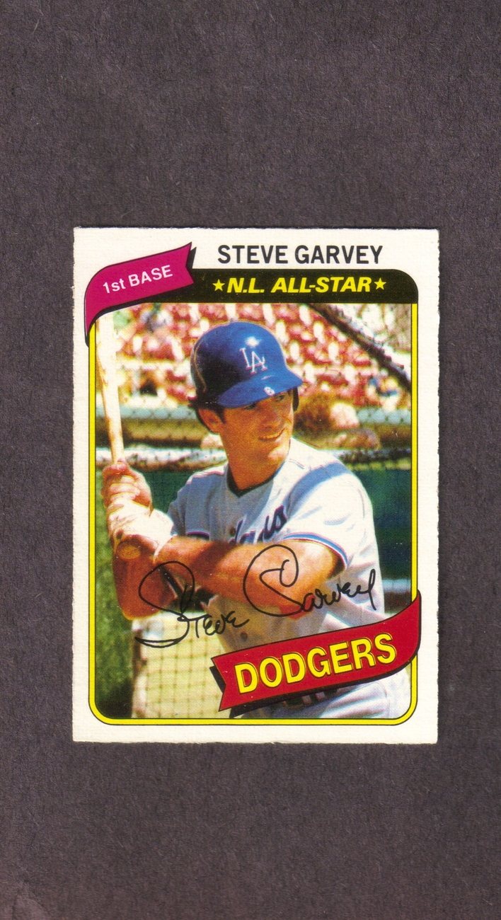 1980 O-Pee-Chee # 152 Steve Garvey Los Angeles Dodgers