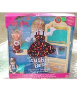 TEACHER BARBIE DOLL SET 1995 MATEL - $44.55