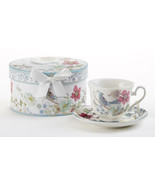 Delton Products Partridge 3.5 inches Porcelain Cup/Saucer in Gift Box, 8... - €25,28 EUR