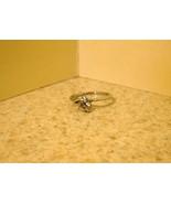 RING WOMEN GEMSTONE CZ SOLITAIRE SIZE 6.5 #190 - $9.99