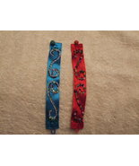Handcrafted Embroidered Ribbon Bracelet Color C... - $2.99