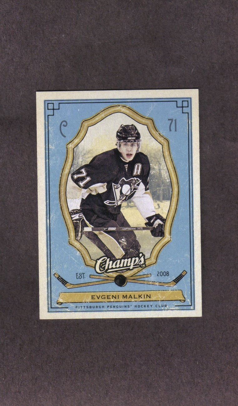 2009-10 Upper Deck Champ's # 82 Evgeni Malkin Pittsburgh Penguins