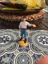 Vintage Disney The Little Mermaid Prince Eric PVC Figure Cake Topper Toy - $6.13
