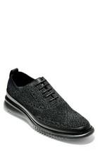 Cole Haan BLACK 2.ZeroGrand Water Resistant Oxfords Shoes, US 12 Medium (D) - $136.62