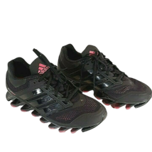 Women's Adidas Springblade Razor Running Shoes Size 11 Black Pink Accent - $114.95