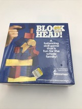 Vintage Blockhead! Pressman-balancing skill game 1992 Nib Sealed Shrink Wrap - $23.90