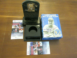 TOMMY TOM LASORDA DODGERS MANAGER 2 X SIGNED AUTO LIMITED EDITION HOF PL... - $296.99