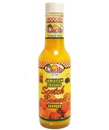 Carib Jamaican Yellow Crushed Scotch Bonnet Peppers 5 Ounce Sauce for Co... - $9.89