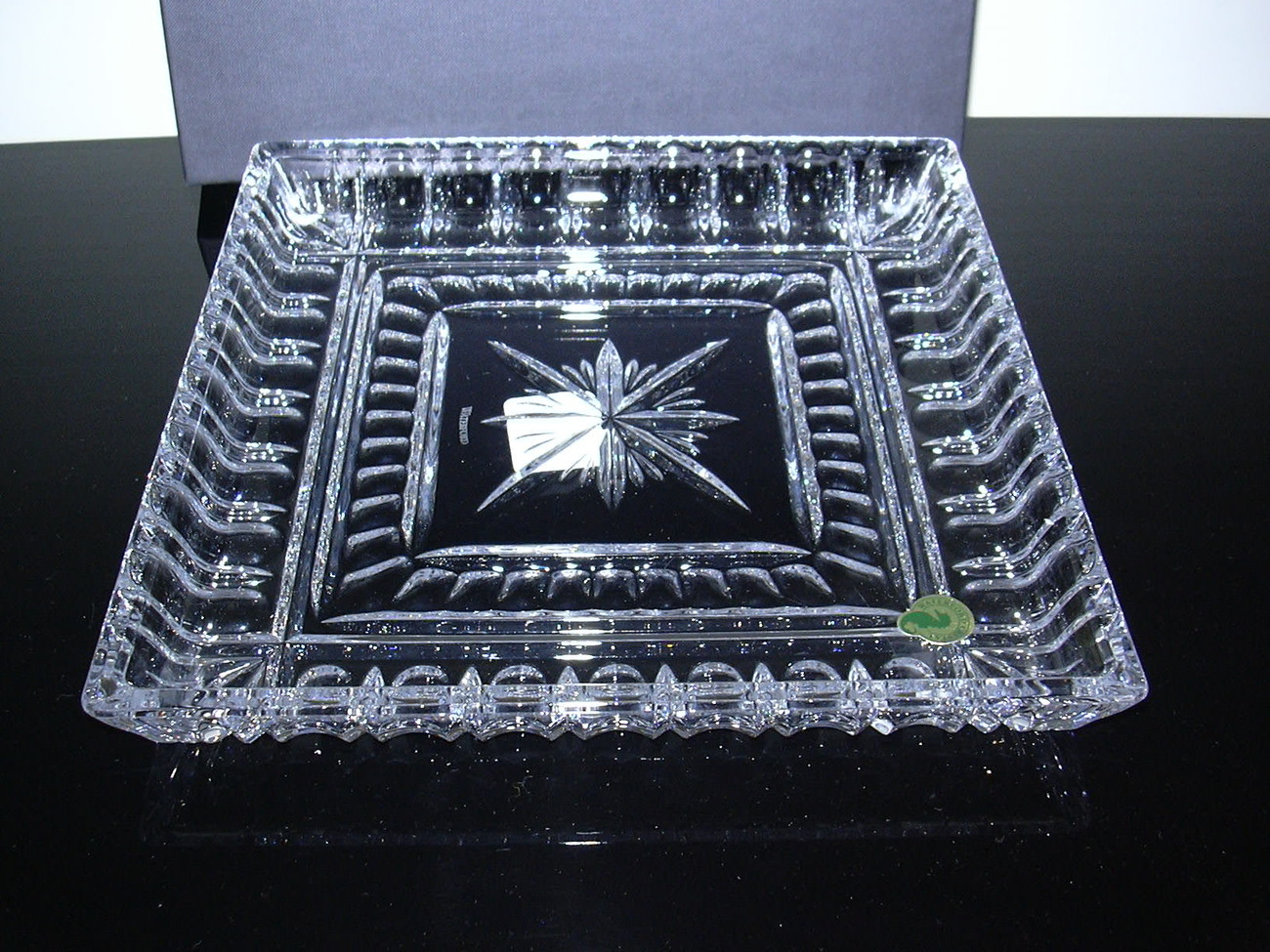"Waterford O'Connell 10"" Crystal Tray"