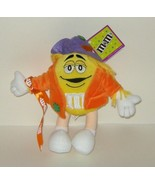 1/2 off! Galerie Yellow M&M Plush Halloween 10 inch  - $4.00