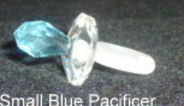 Preciosa Small Blue Pacifier (Blinky) - $21.95