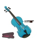 """Crystalcello 13"""" Blue Viola with Case and Bow - $50.00"""