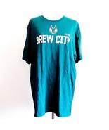 Milwaukee Bucks Brew City NBA Basketball Playoffs T-Shirt Mens XL - $24.99