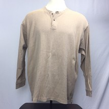 Roundtree & Yorke Men's Long Sleeve T-shirt, size XXL 2XL, Tan - $16.63