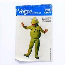 Uncut Vogue 8476 Kermit the Frog Costume Child's S M L 2-12 Sewing Patte... - $18.33