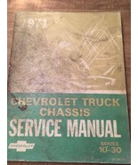 1971 Chevrolet Truck Chassis Service Manual Series 10-30 - $19.79