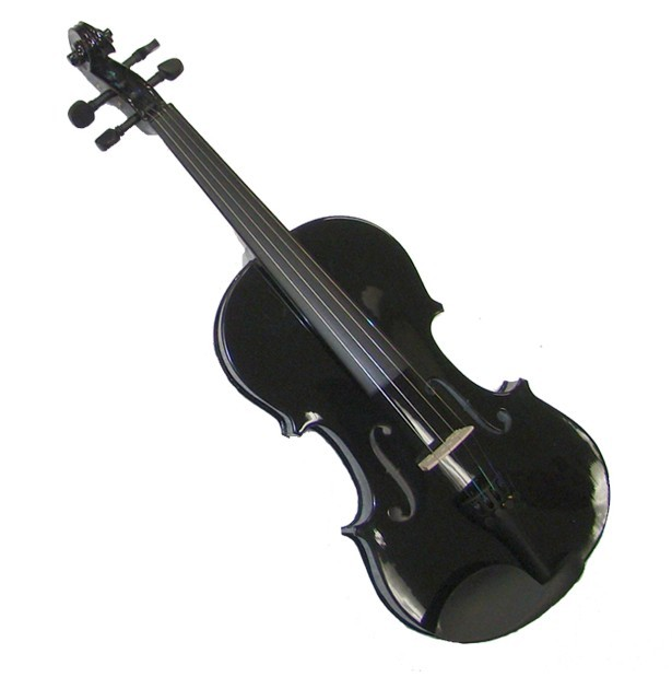 "Crystalcello 13"" Black Viola with Case and Bow"