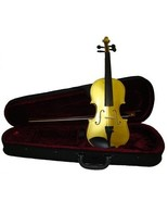 """Crystalcello 10"""" Gold Viola with Case and Bow - $50.00"""