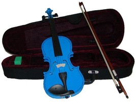 "Crystalcello 13"" Blue Viola with Case and Bow - $50.00"