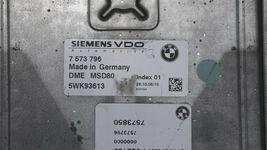 07-10 Bmw 135I 335I 535I N54 Engine Control Module Computer Ecu Ecm Pcm 7573796 image 4