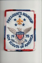 1975 President's Roundup Boy Scouts of America patch - $5.94