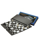 Magnetic Travel chess set with folding chess board - educational toy, game - $16.45