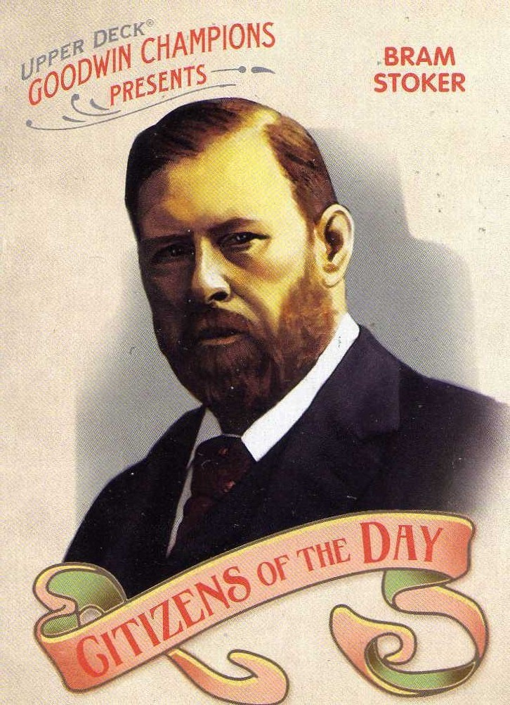 2009 Upper Deck Goodwin Citizens of the Day Bram Stoker