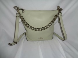 COACH F45028 LEATHER CHAIN MINO ABBY DUFFLE SHOULDER BAG CROSSBODY PALE ... - $122.27