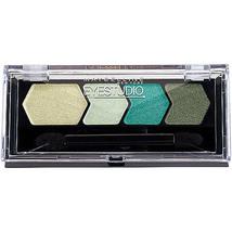 MAYBELLINE EyeStudio Eyeshadow Color Plush Quad, Gusty Green 85 N&S - $10.00