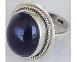 Dark purple glass ring thumb155 crop