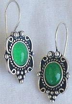 Small green earrings 1 thumb200