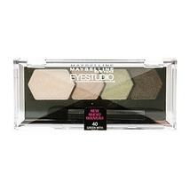 MAYBELLINE EyeStudio Eyeshadow Color Plush Quad, Green with Envy 40 N&S - $10.00