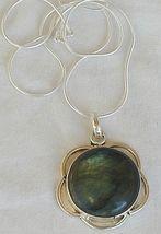 Greenish glass pendant 1 thumb200
