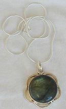 Greenish glass pendant 2 thumb200