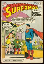 Superman #141 1961-DC Comics-JOR-EL covert origin retold G- - $50.44