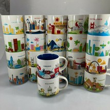 Starbucks YAH 14 oz Coffee Mugs You Are Here Reduced Shipping for Multip... - $17.59+
